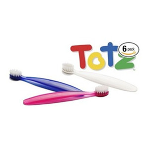 {Amazon.com:RADIUS Totz 柔软刷毛儿童牙刷 6个装
