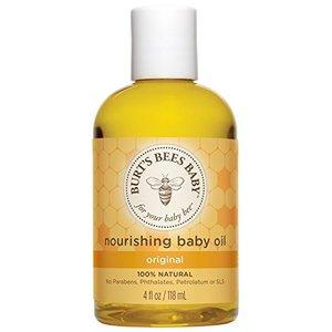 {Amazon.com:Burt's Bees 小蜜蜂100%纯天然婴儿按摩油 4oz