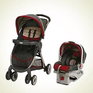 {Amazon.com:Graco 葛莱 FastAction 婴儿推车+汽车座椅旅行组合