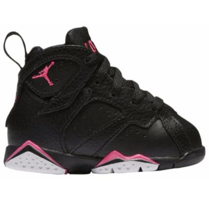 {Eastbay:JORDAN RETRO 7童款黑色篮球鞋